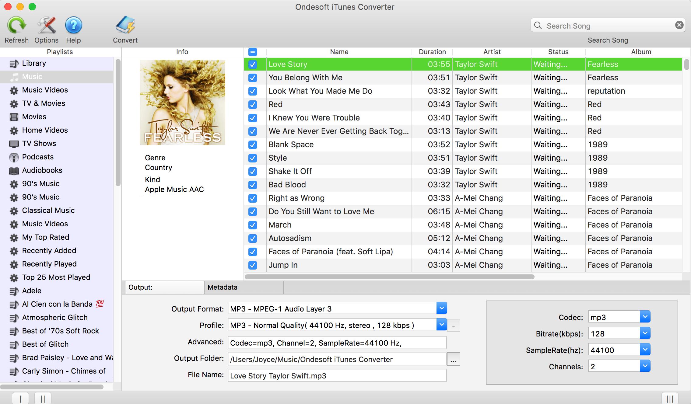 ondesoft spotify converter full version